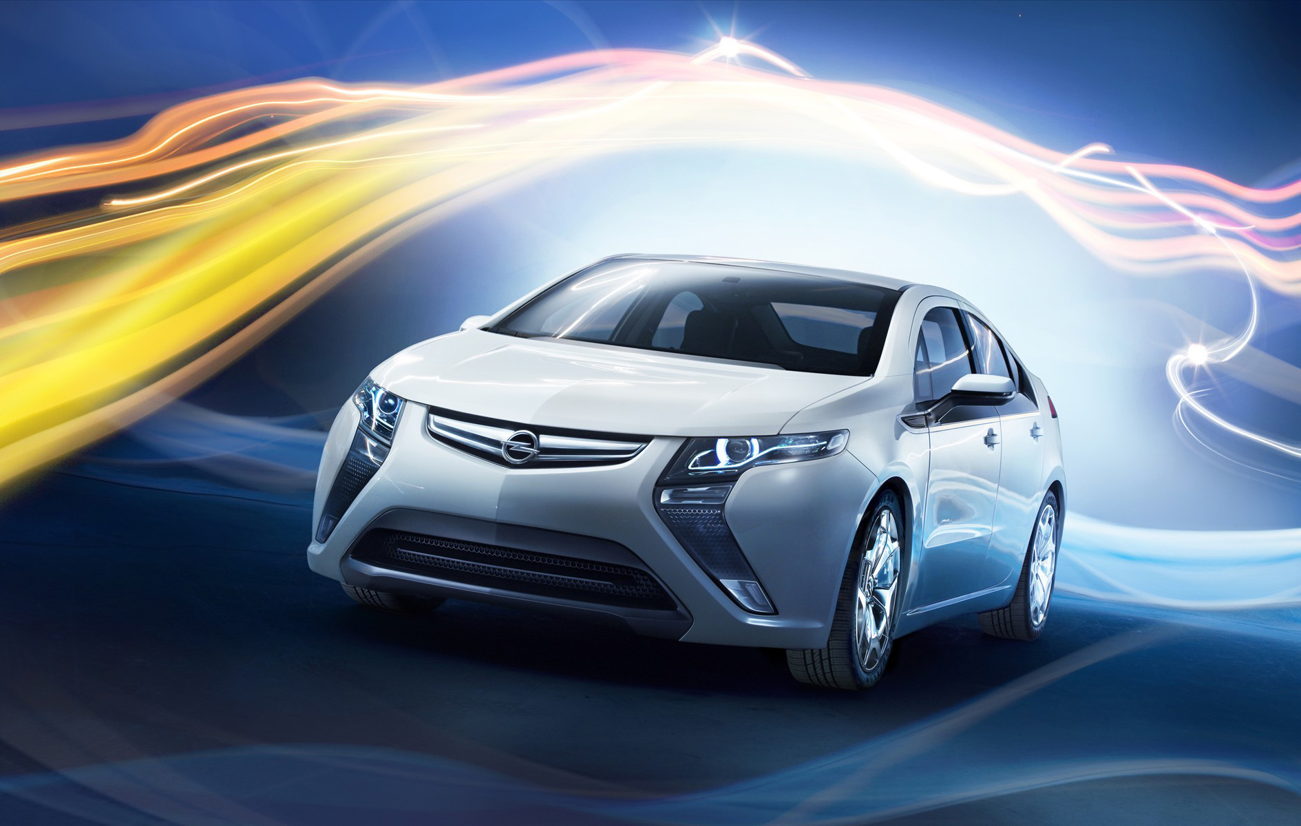 2012 Opel Ampera widescreen 10 Opel Ampera Famous for Sophisticated Glossy Car Design