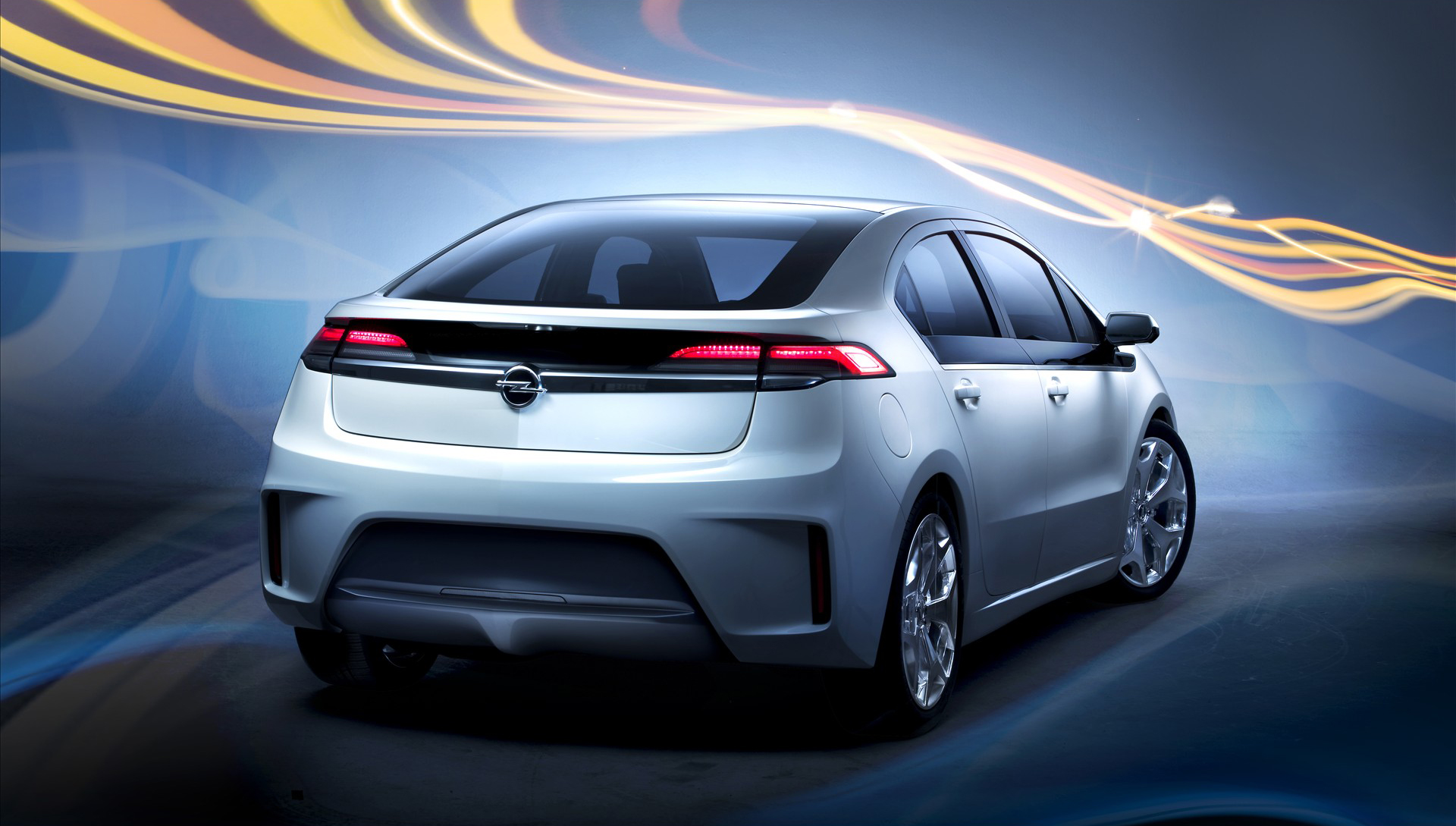 2012 Opel Ampera widescreen 9 Opel Ampera Famous for Sophisticated Glossy Car Design