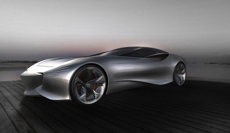 2030 mercedes benz aria concept 1 2030 Mercedes Benz Aria Concept 'Swan Wing'  A Car Review