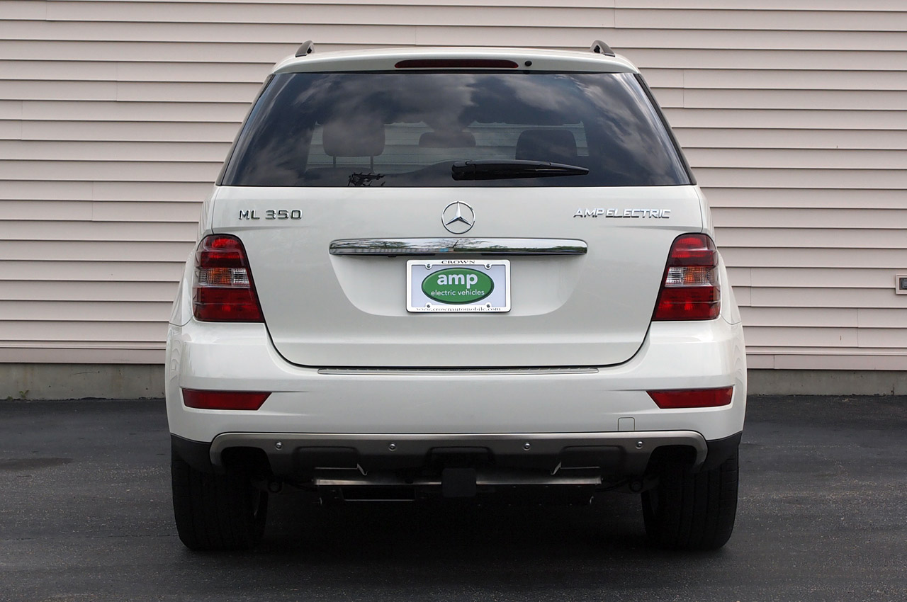 2011 Amp Electric Mercedes Benz Ml Ev Variant With
