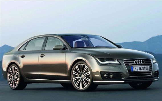Audi A6 illo front view 2013 Audi A6  More Spacious with Aerodynamic Features