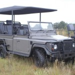 Axeon defender 150x150 Axeon unveils an all electric Land Rover Defender for safaris