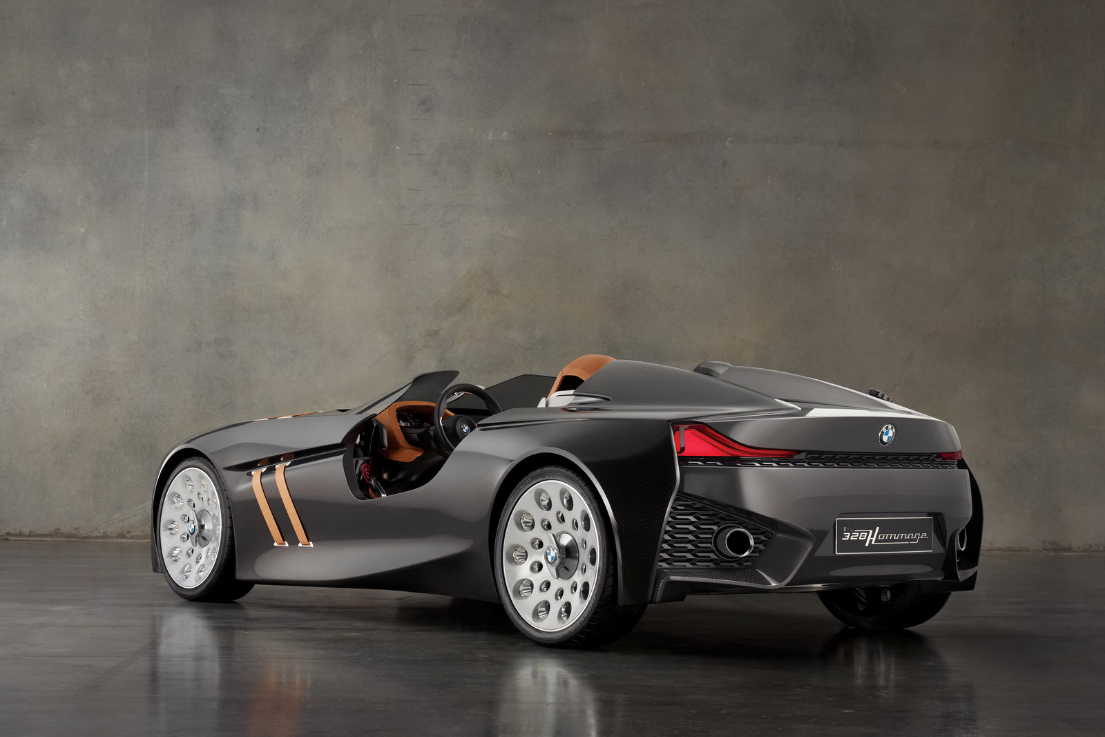 BMW 328 Hommage Concept 5 BMW's Retrolicious 328 Homage Concept Car to Launch Soon