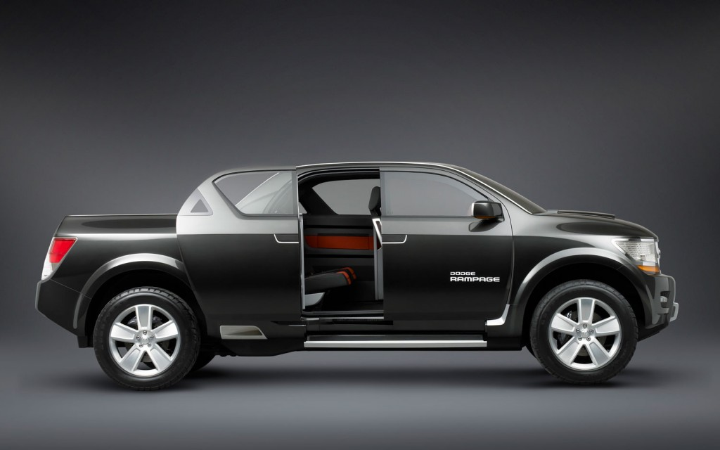 Dodge rampage concept 2 Chrysler' UNI BODY truck
