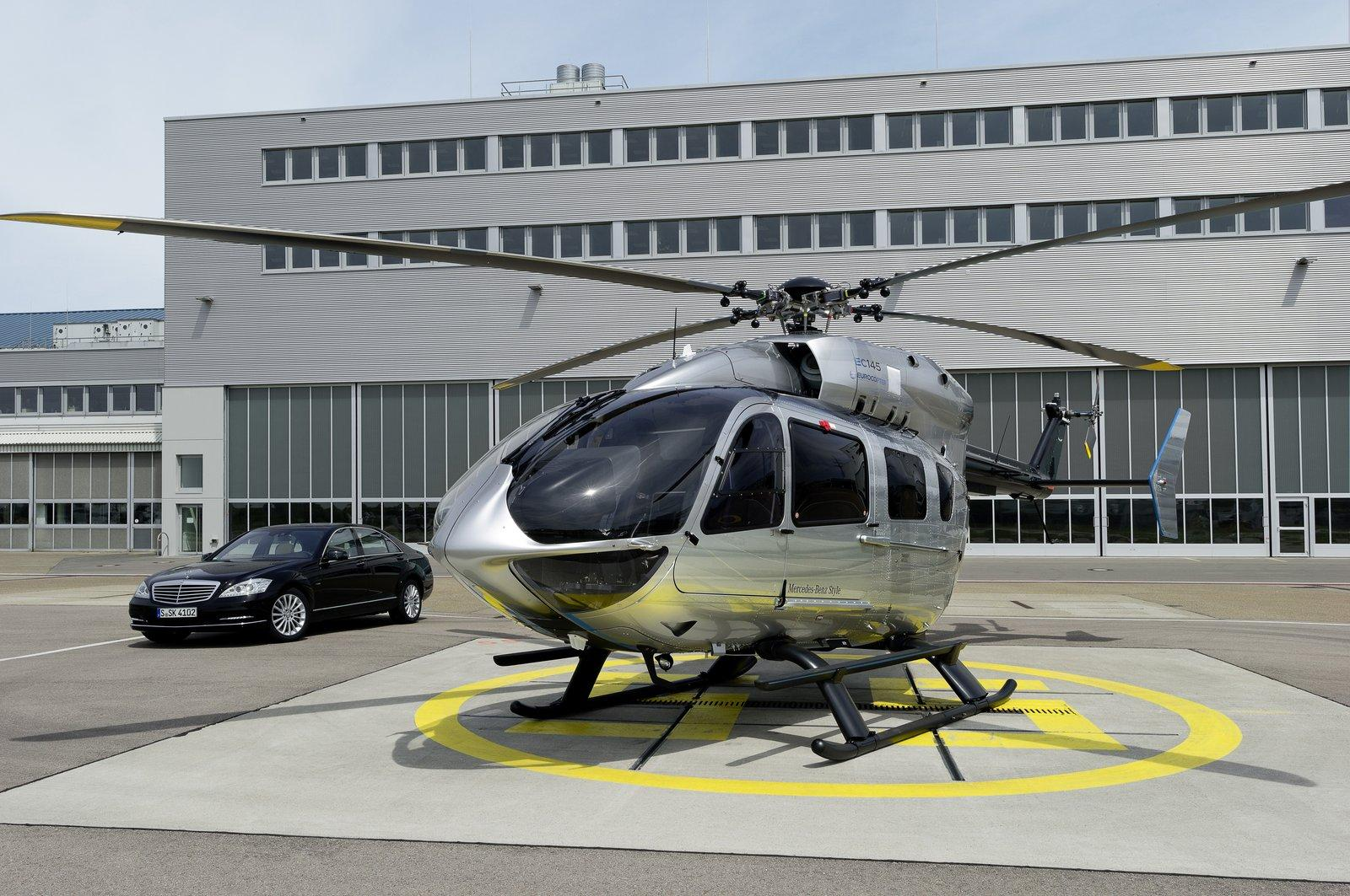 Eurocopter ec145 by mercedes benz 2 WHEN EURO COPTER AND MERC BENZ  JOIN HANDS