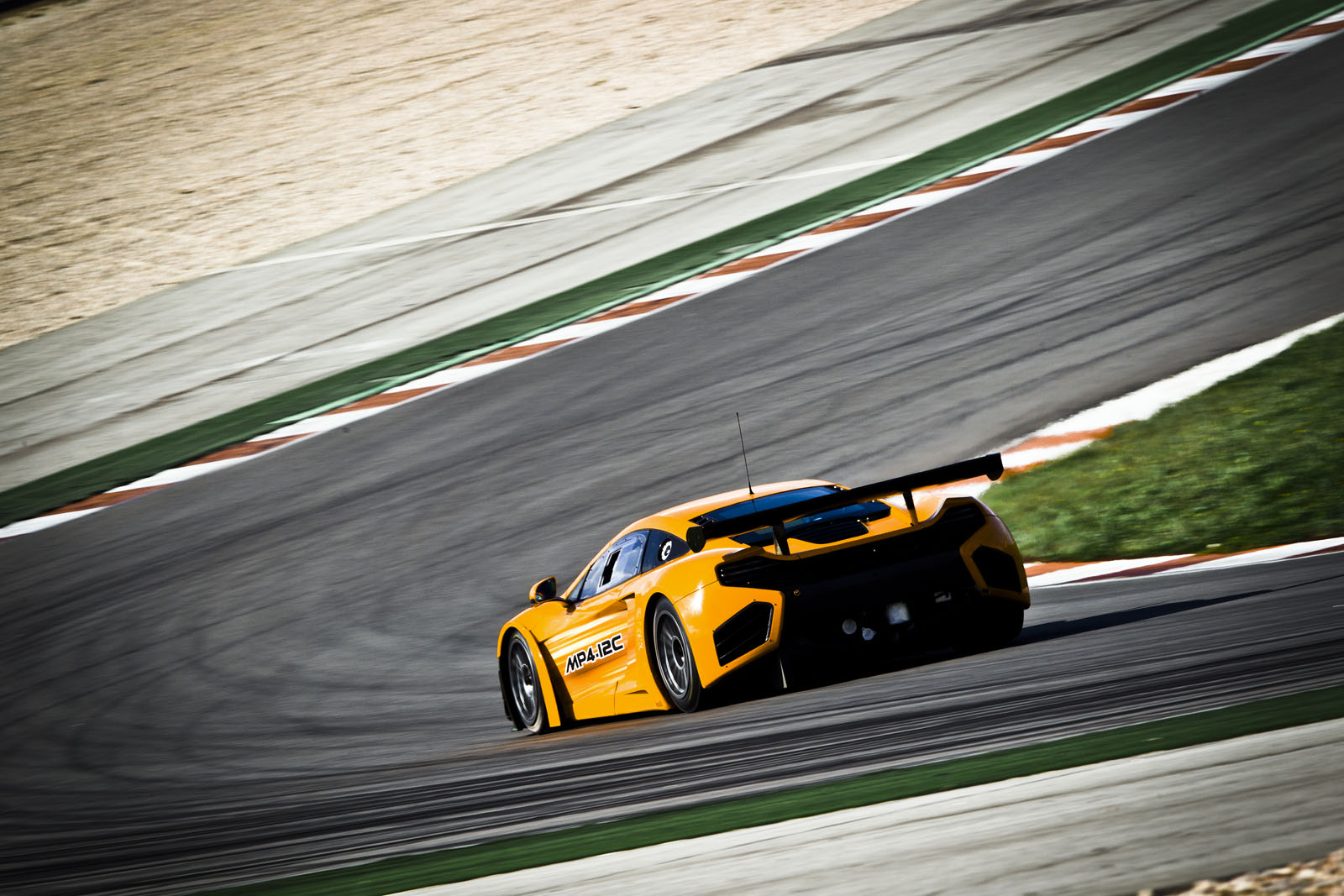 MP4 12C GT3 12 MP4 12C GT3 Variant Fuel Economic and Energy Efficient