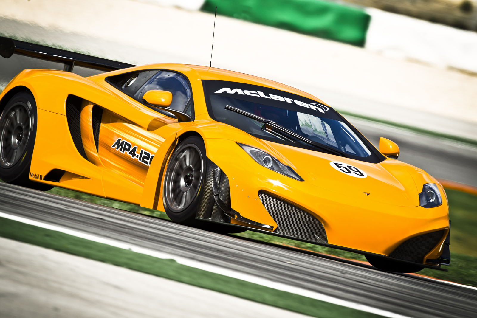 MP4 12C GT3 9 MP4 12C GT3 Variant Fuel Economic and Energy Efficient