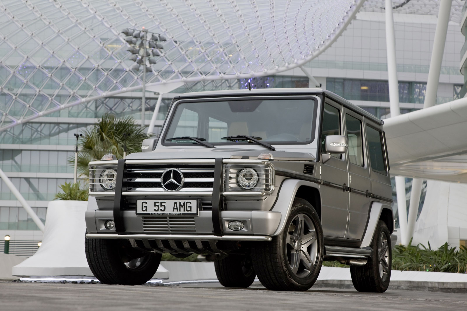Mercedes G55 AMG 6 Mercedes Benz G ClassVariant  More Attractive and Dynamic in Nature