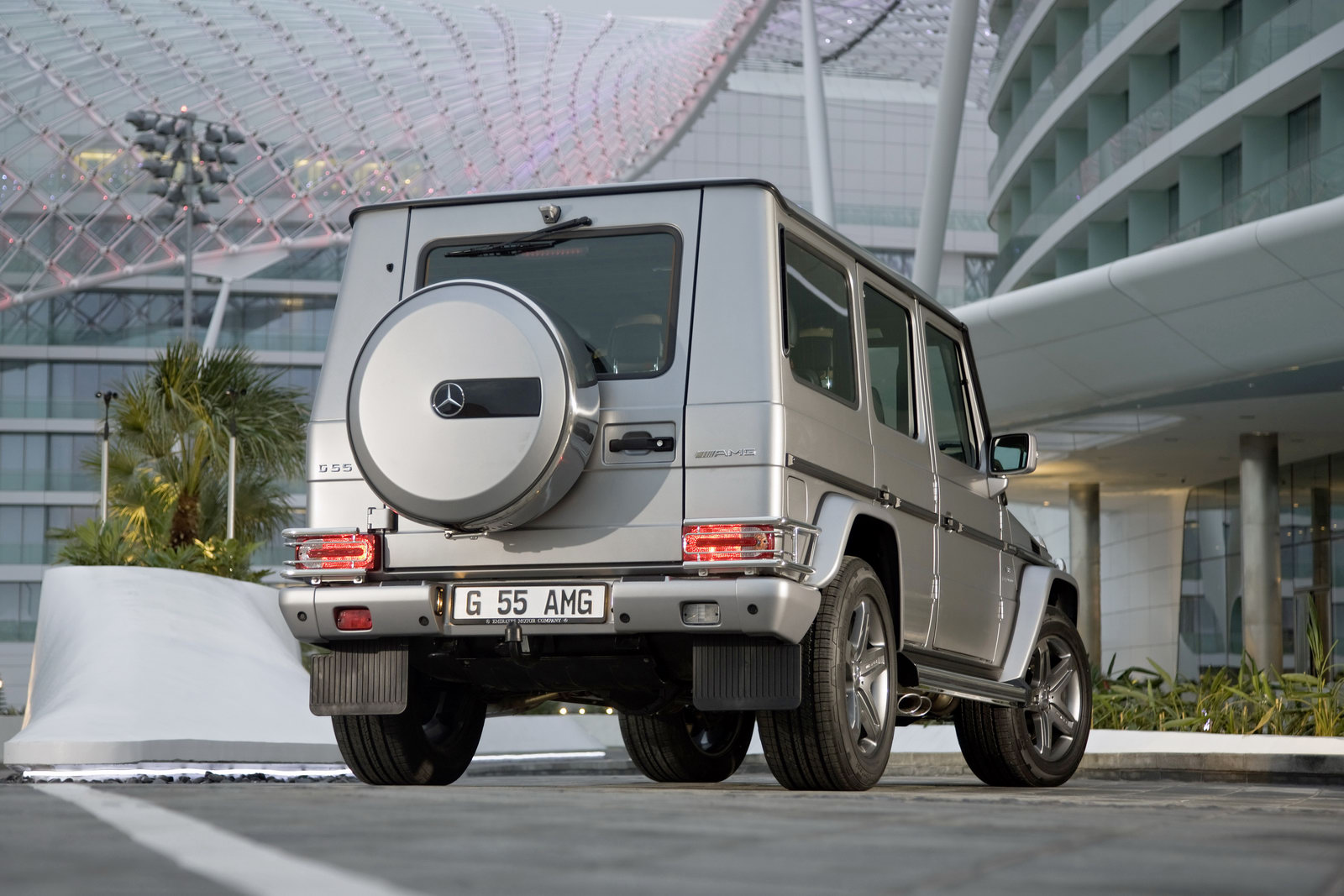 Mercedes G55 AMG 7 Mercedes Benz G ClassVariant  More Attractive and Dynamic in Nature