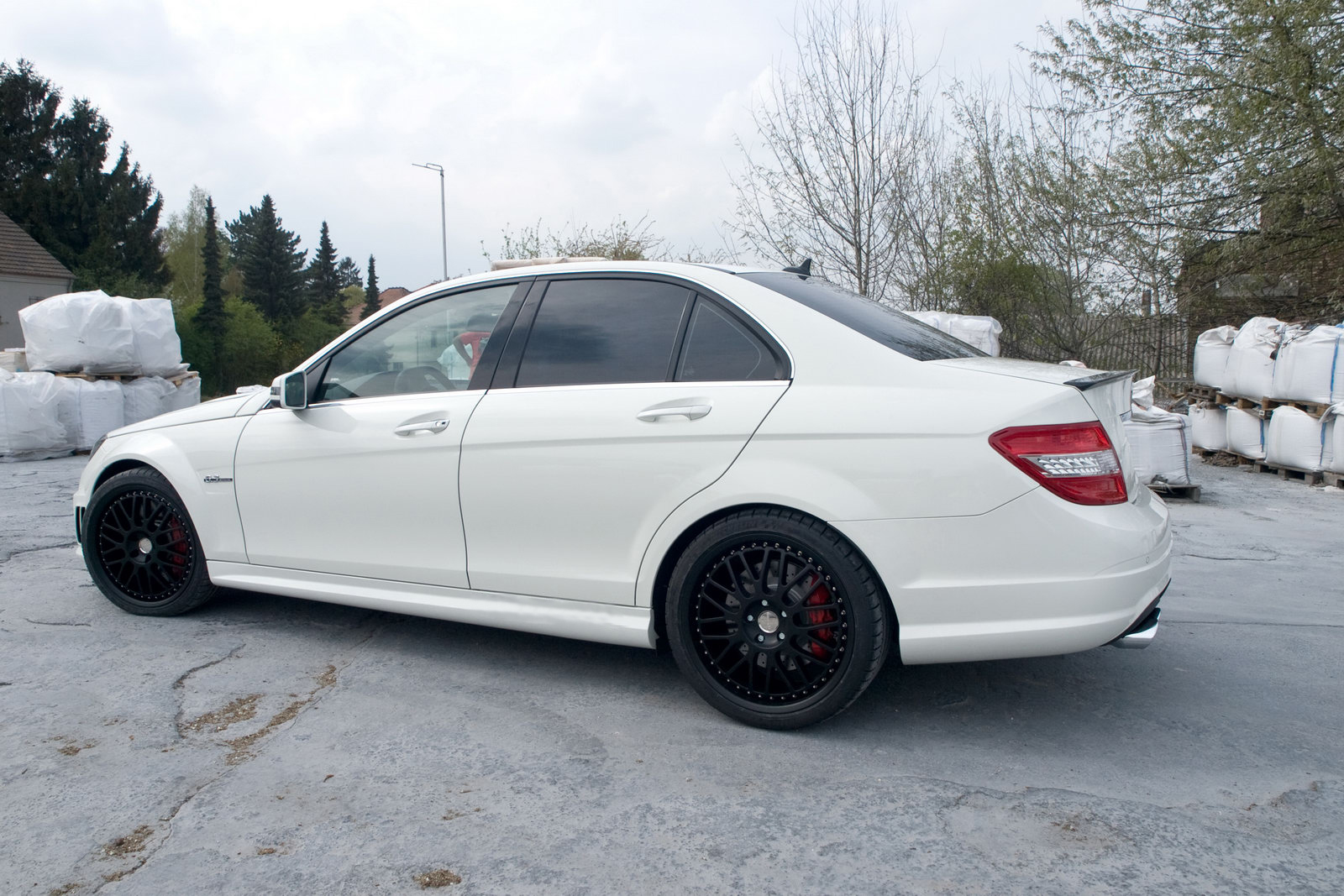 Mercedes Kubatech C63 AMG 6 Kubatech's Mercedes Benz C63 AMG –More Energy Efficient and Competent