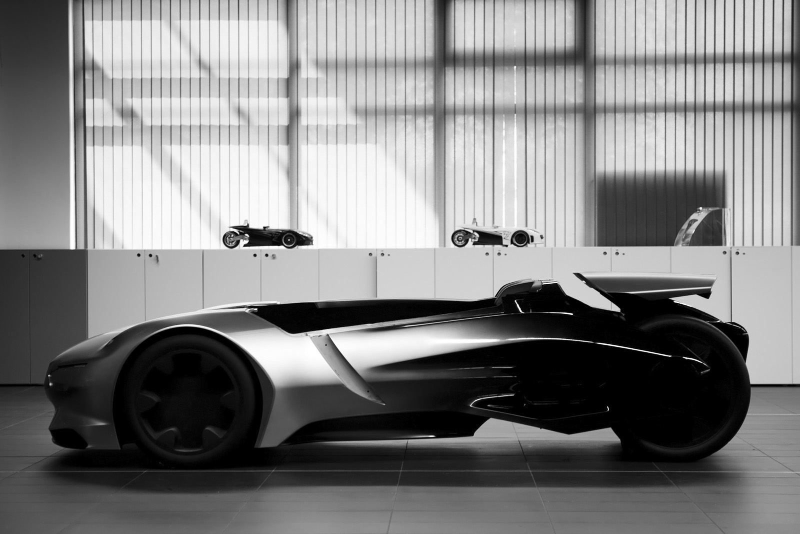 Peugeot EX1 Concept 14 The Ultimate Electric Car in Record Breaking