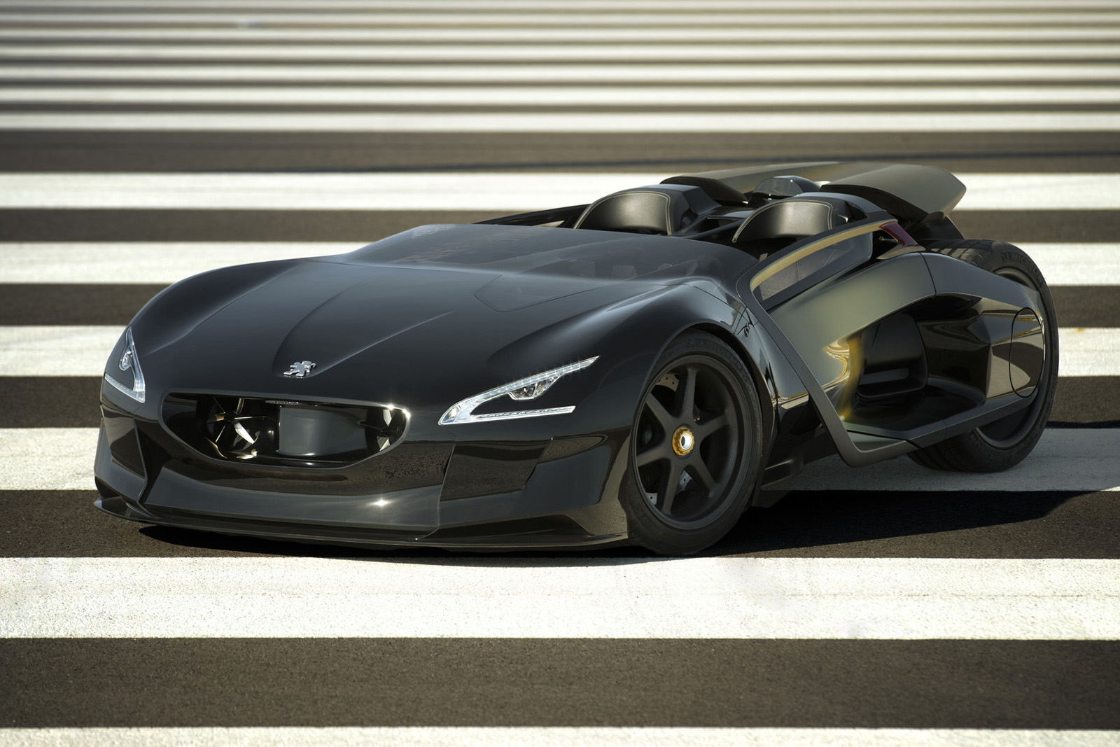 Peugeot EX1 Concept 4 The Ultimate Electric Car in Record Breaking