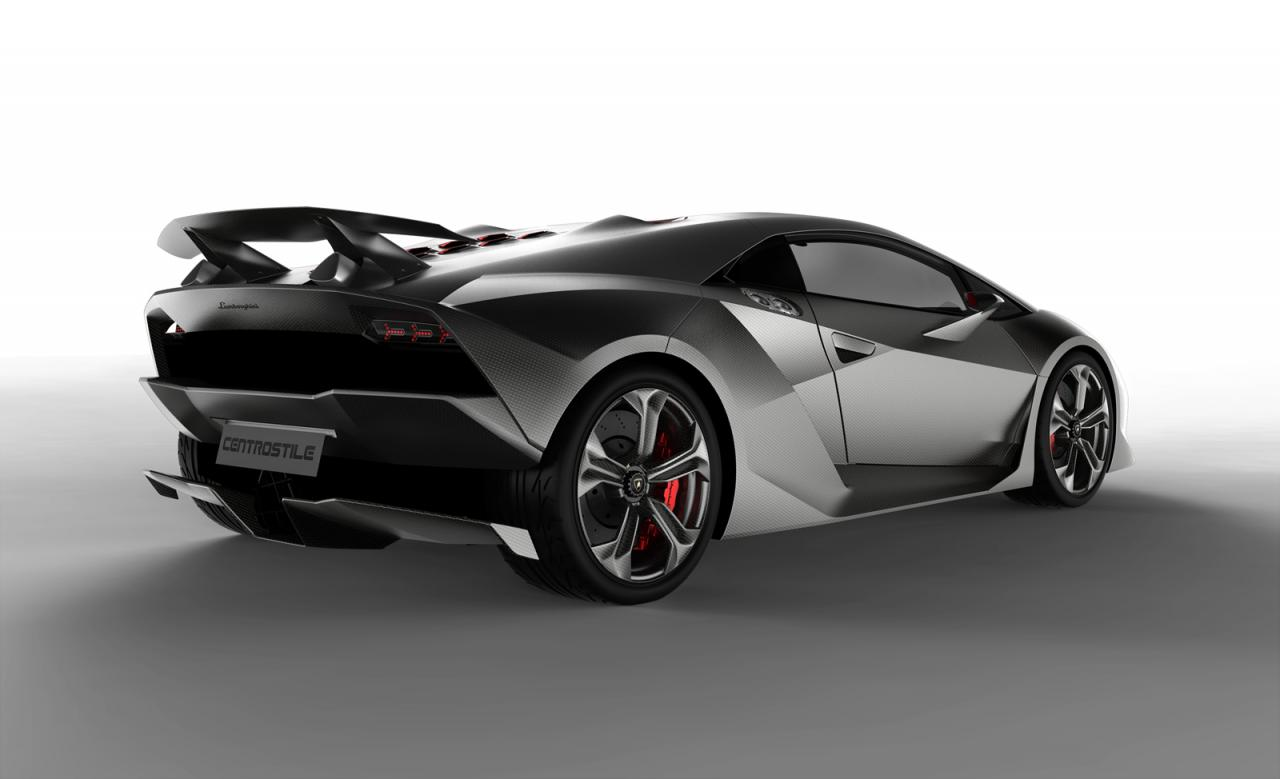 Sesto Elemento concept Lamborghini's LIGHTEST creation