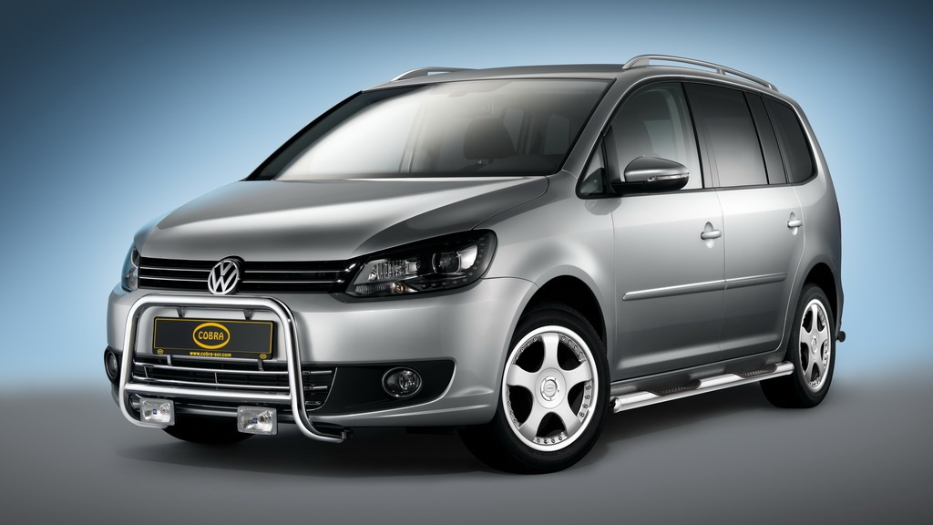 Volkswagen Touran Sharan and Caddy accessories from Cobra 3 Accessorising Volkswagen Sharan, Touran and Caddy by Cobra
