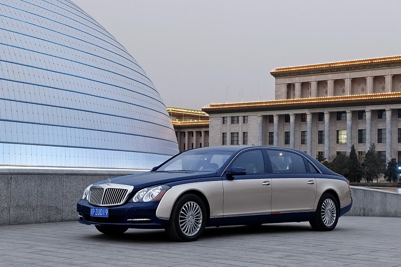 2011 Maybach 62 S 2 Maybach Supposed to Be Sub brand for Mercedes
