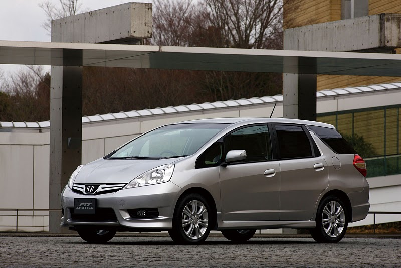 2011 honda fit shuttle 1 2011 Honda Fit Shuttle with Proper Technical Upgradation