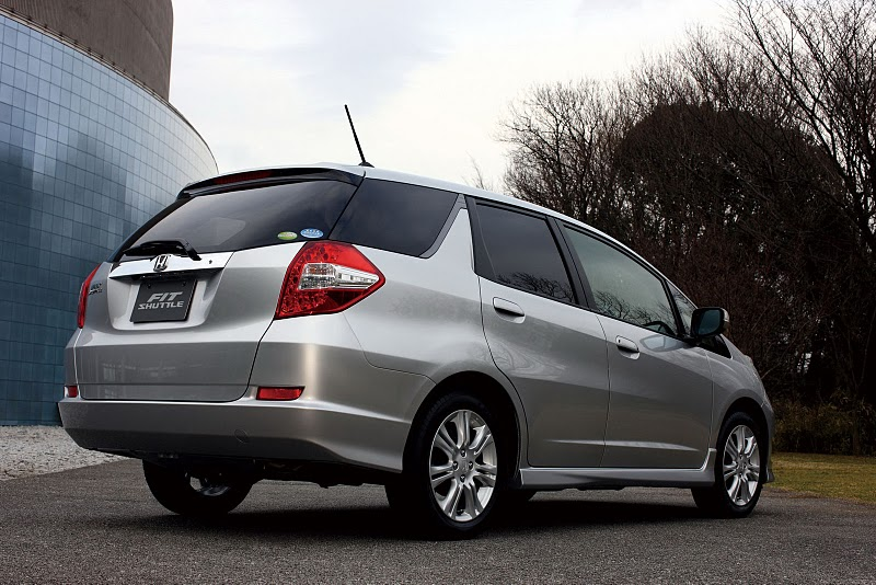 2011 honda fit shuttle 3 2011 Honda Fit Shuttle with Proper Technical Upgradation