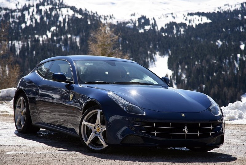 2012 Ferrari FF Blue 4 2012 Ferrari FF Blue Car – More Charismatic and Colorful