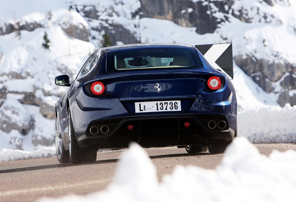 2012 Ferrari FF Blue 9 2012 Ferrari FF Blue Car – More Charismatic and Colorful