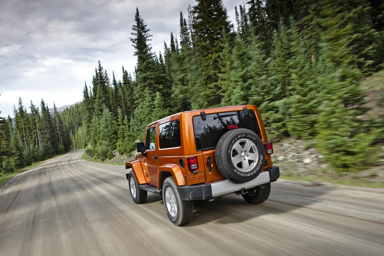 2012 Jeep Wrangler 16 2012 Jeep Wrangler with New Car Tuning Accessories – A Report