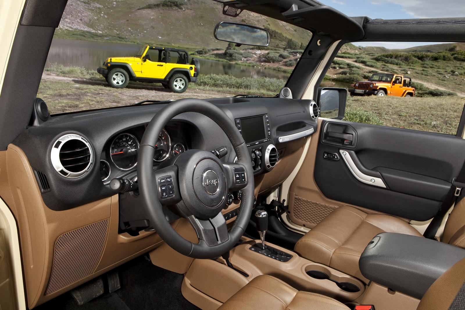 2012 Jeep Wrangler 8 2012 Jeep Wrangler with New Car Tuning Accessories – A Report