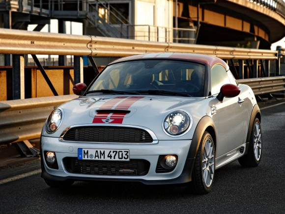 2012 Mini Coupe Front 580x435 New Sophisticated Vehicles with Excellent Features