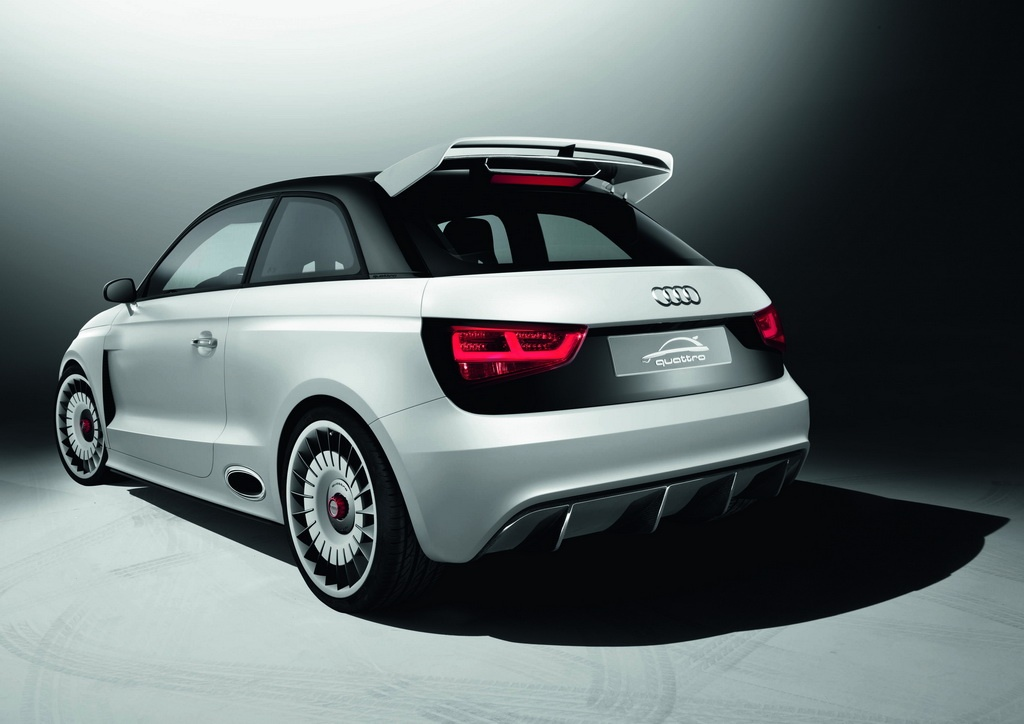 Audi A1 Clubsport Quattro 171 Audi A1 Clubsport Quattro Variant with Excellent Features