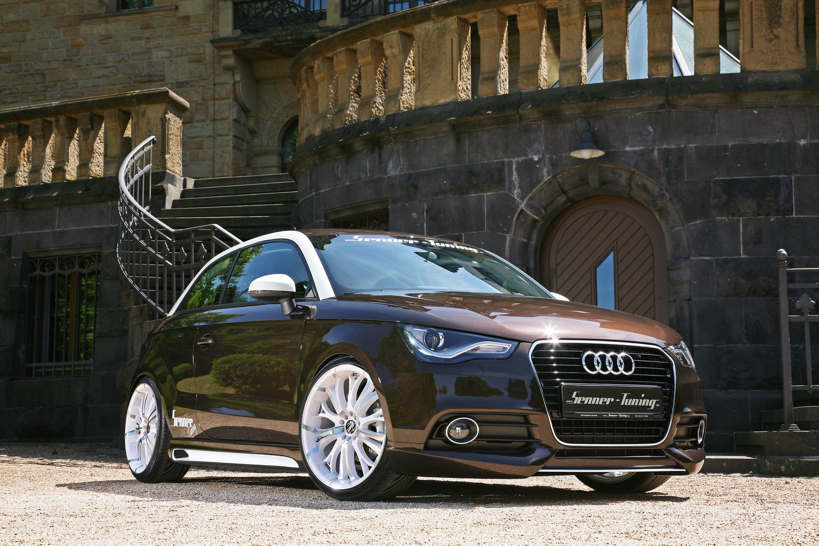 Audi A1 Senner Tuning 5 Senner  Launched Car Upgradation Kit