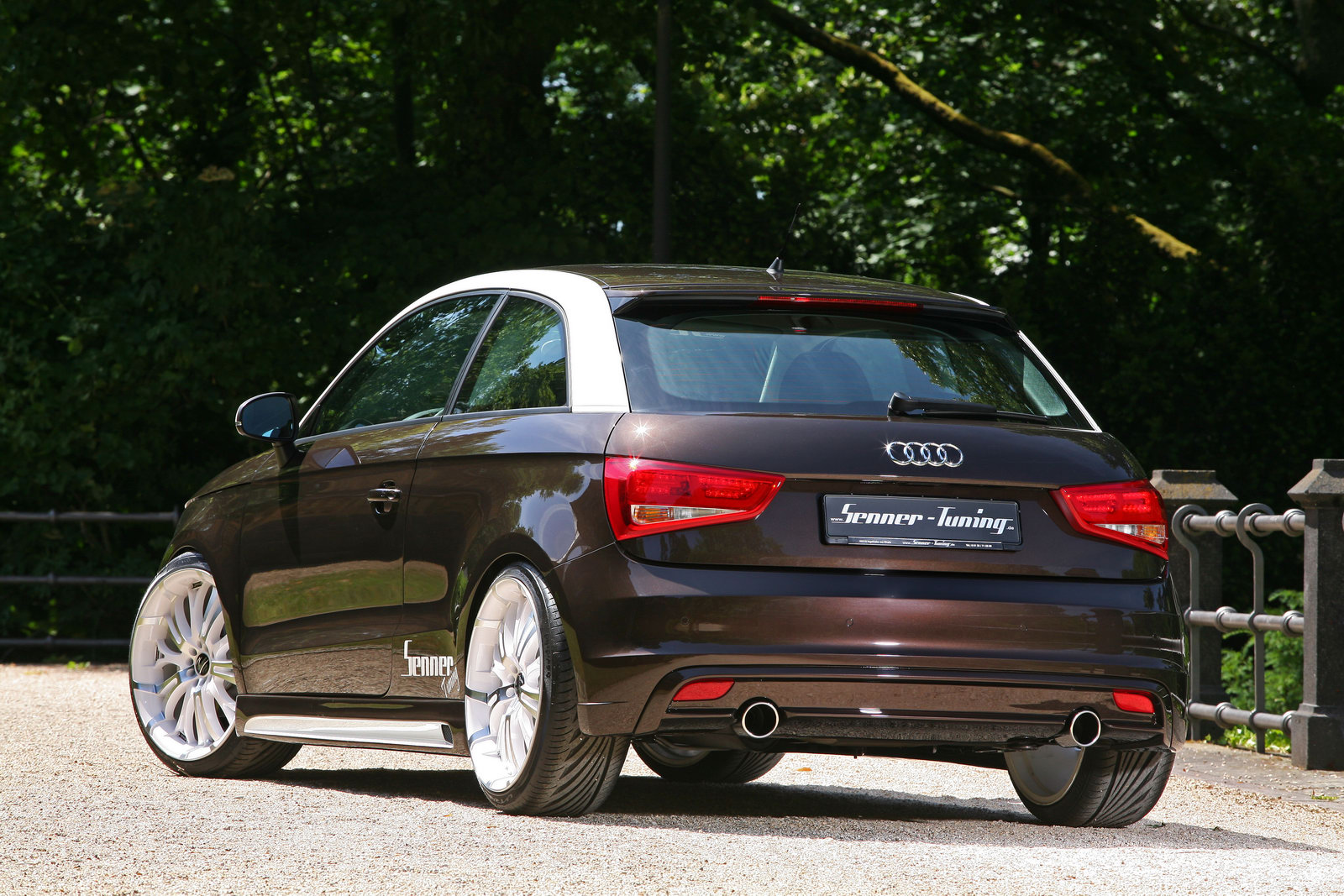 Audi A1 Senner Tuning 6 Senner  Launched Car Upgradation Kit