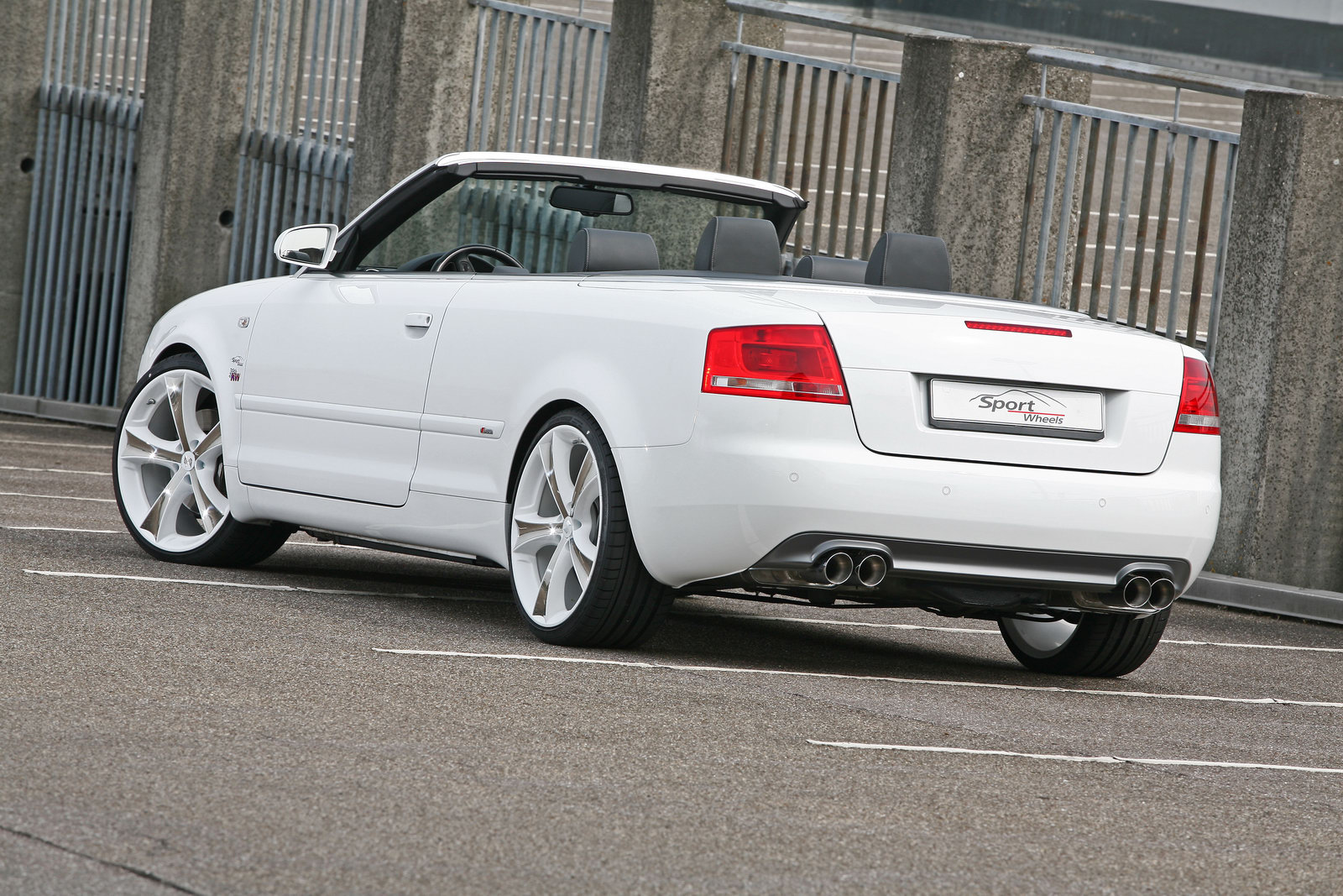 Audi A4 Cabriolet 2 Audi A4 2.0 TFSI Convertible Tuned by SportWheels