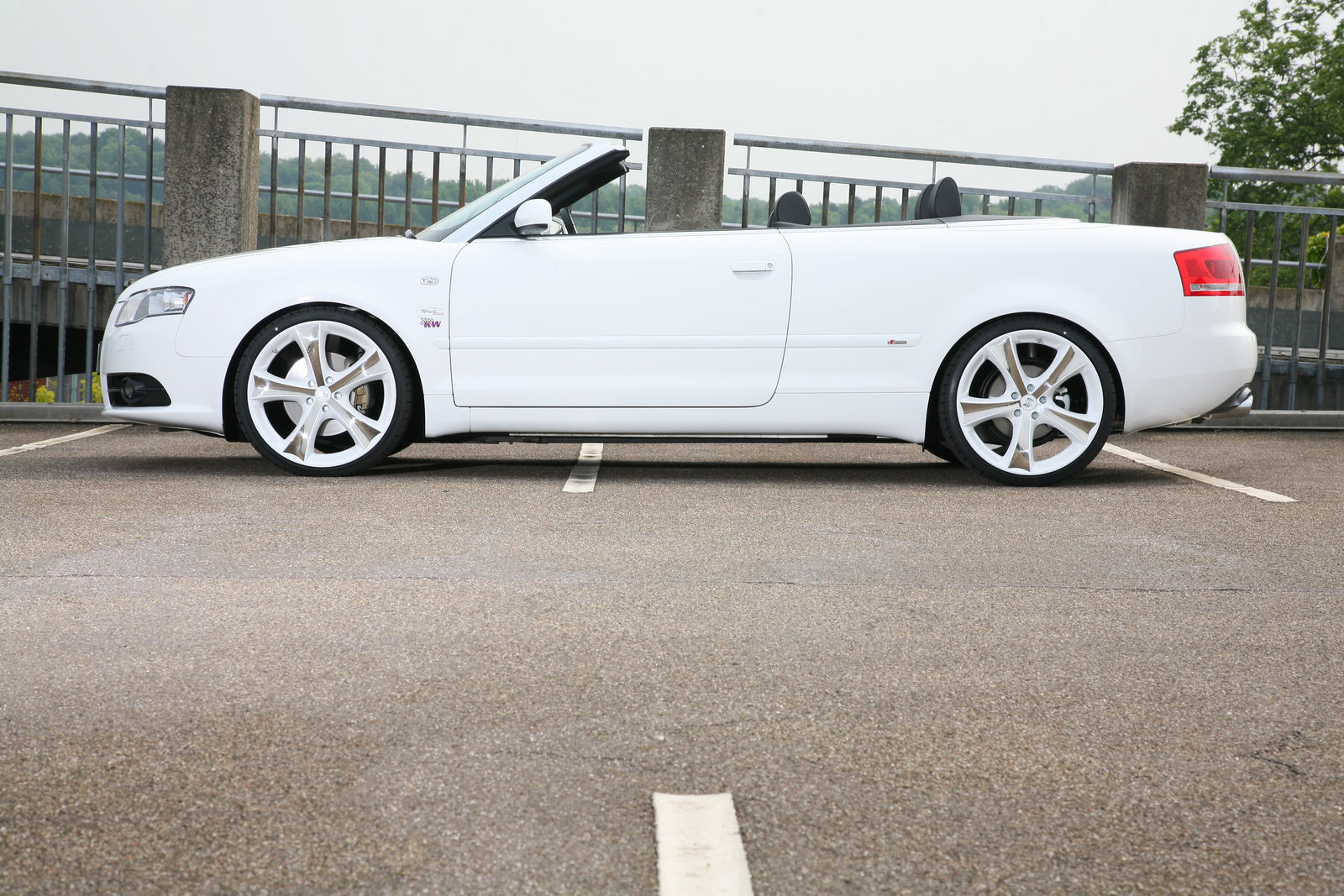 Audi A4 Cabriolet 6 Audi A4 2.0 TFSI Convertible Tuned by SportWheels