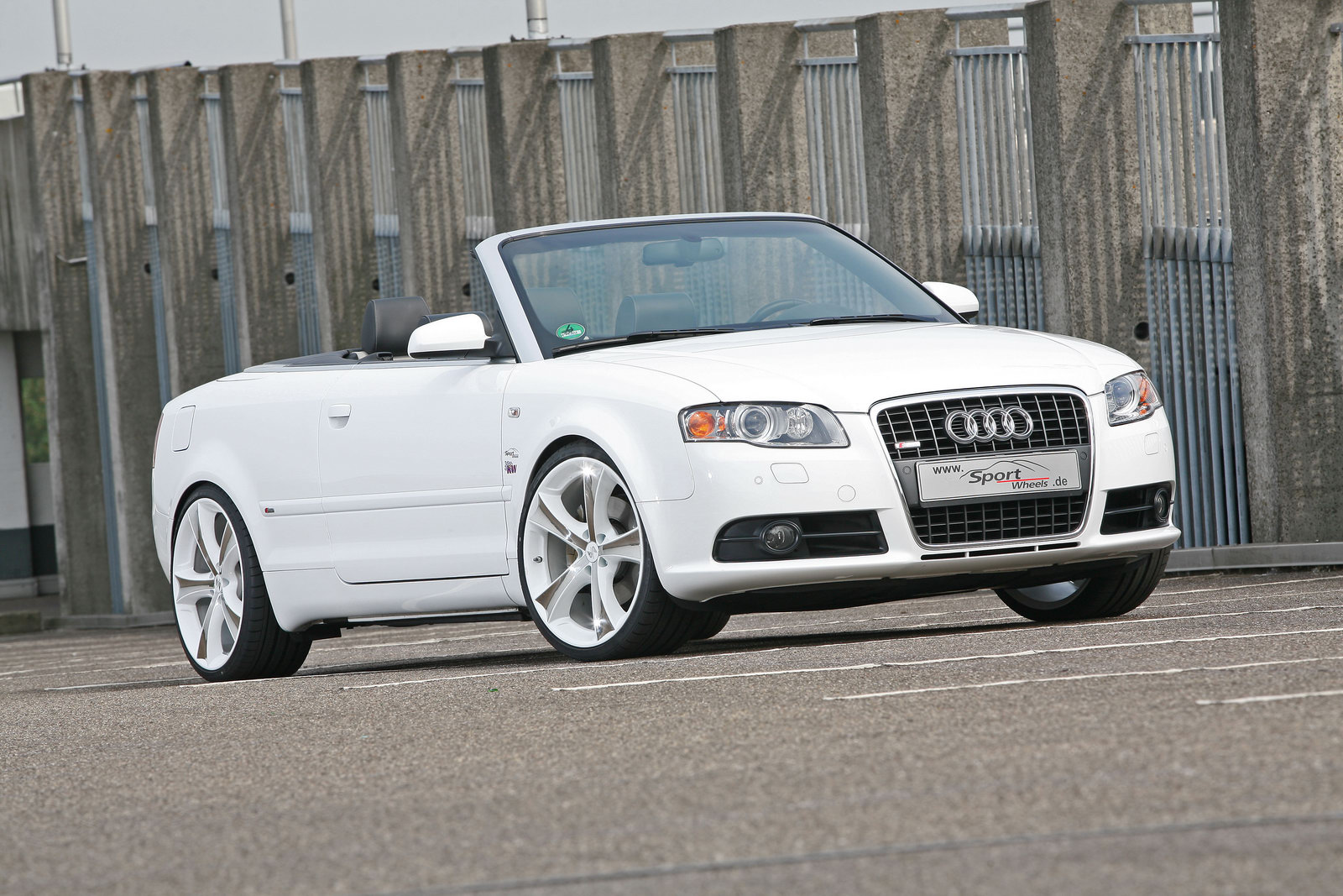 audi a4 2 0 tfsi convertible tuned by sportwheels. Black Bedroom Furniture Sets. Home Design Ideas