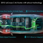 2012 Buick LaCrosse with e-Assist Technology