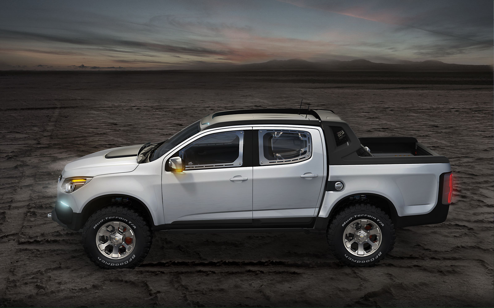 Chevrolet Colorado Double Cab Rally Concept 1 New Chevrolet Colorado with Double Cab Rally Concept –Review