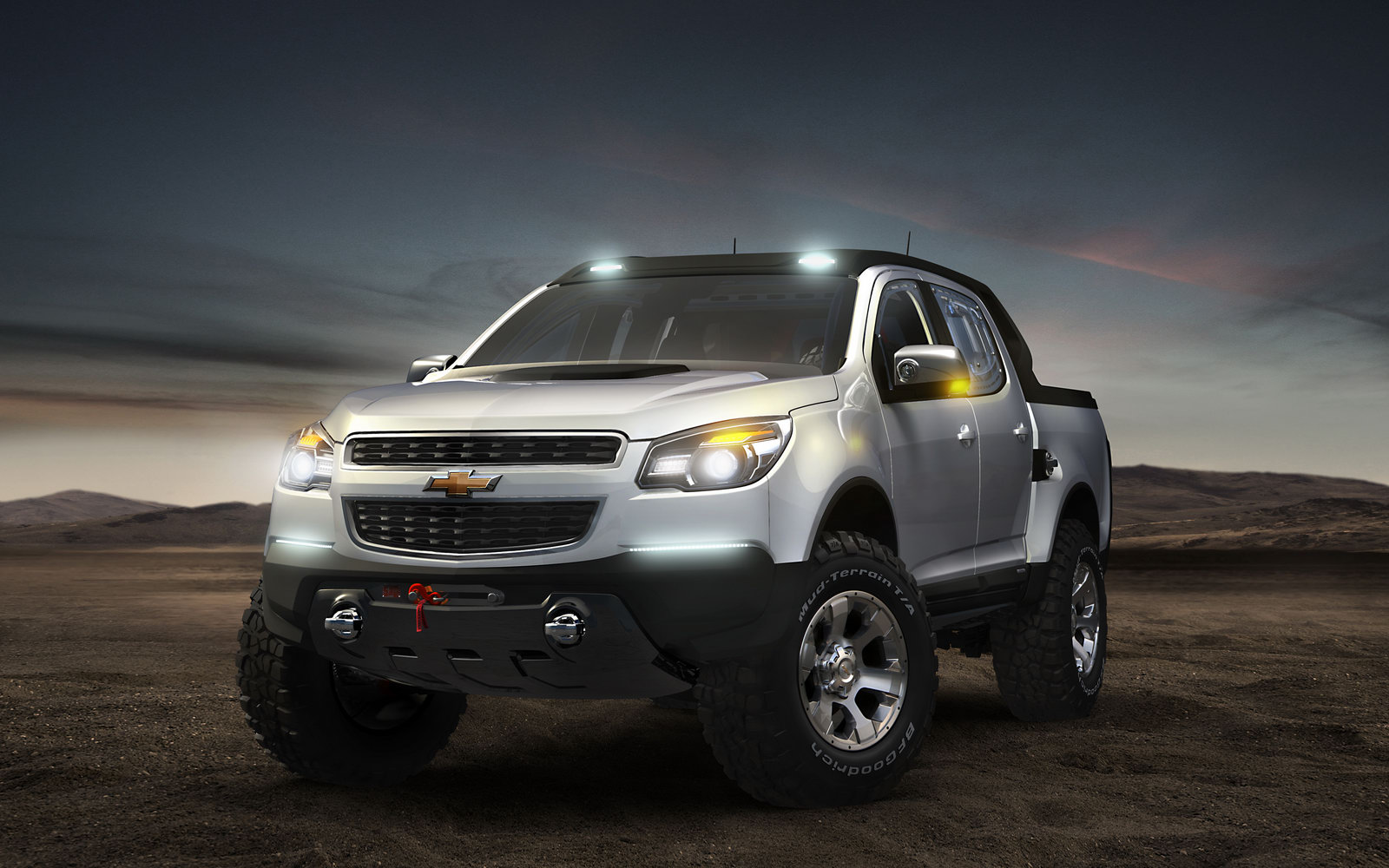 Chevrolet Colorado Double Cab Rally Concept 3 New Chevrolet Colorado with Double Cab Rally Concept –Review
