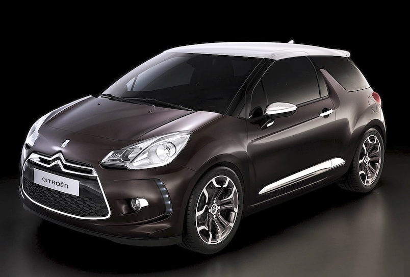 Citroen ds3 Citroën Launches The Exciting Model, Grey Matter special