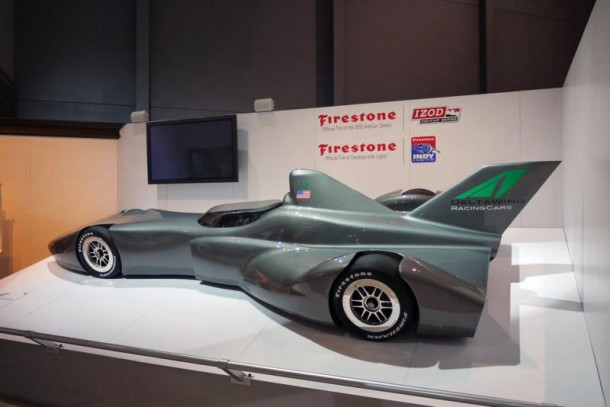 DeltaWing Indycar 1 DELTA WING FINALLY GETS A NAME AND FAME, Project 56 Indy Car to appear in Le Mans 2012