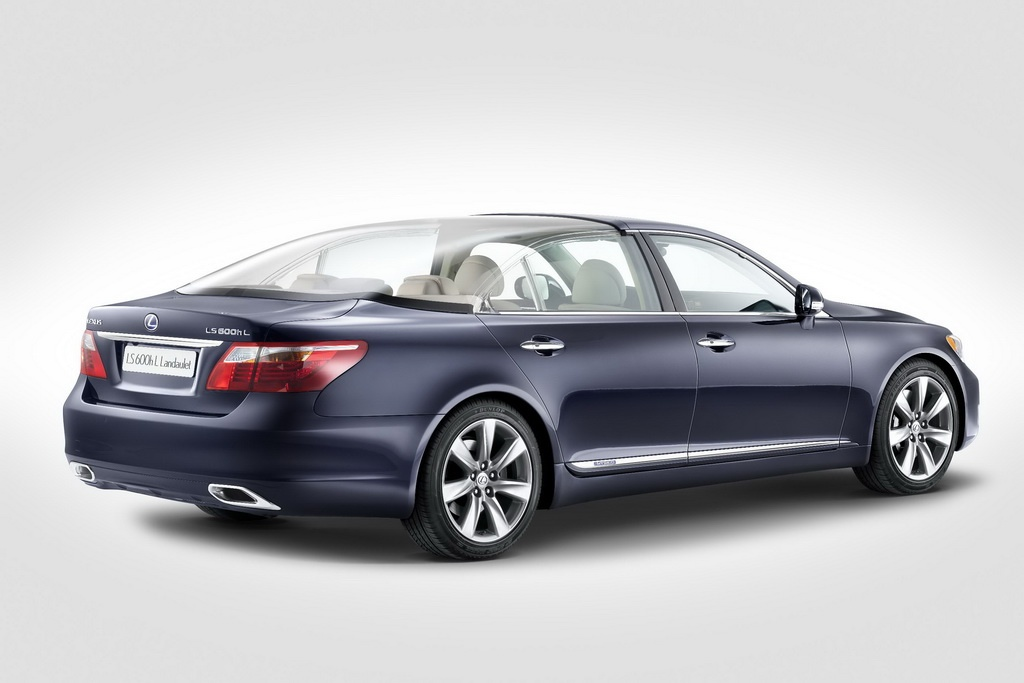 Lexus LS 600h Landaulet 2 Lexus LS 600h Landaulet   A Short  Analytical Overview