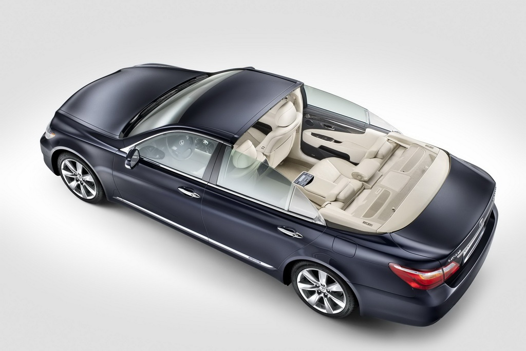 Lexus LS 600h Landaulet Lexus LS 600h Landaulet   A Short  Analytical Overview