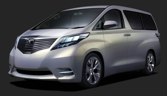 Toyota Alphard  Available in Different Trim Levels