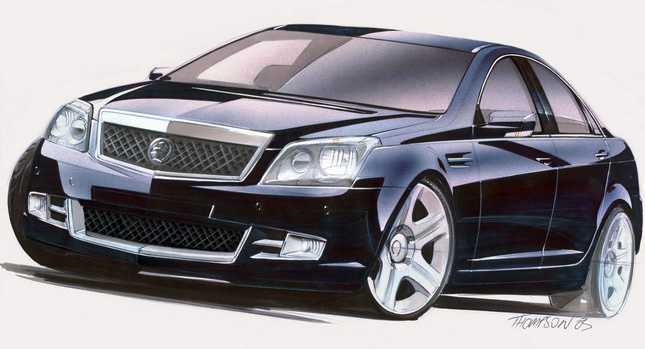 WM Design  Next Holden Commodore VF with Aluminium Panels, Electric Powered Steering