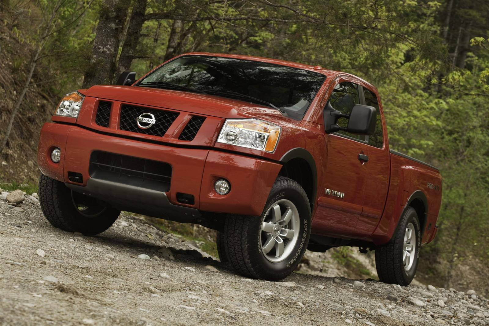 2011 Nissan Titan truck 1 2011, Nissan's take on the large size truck