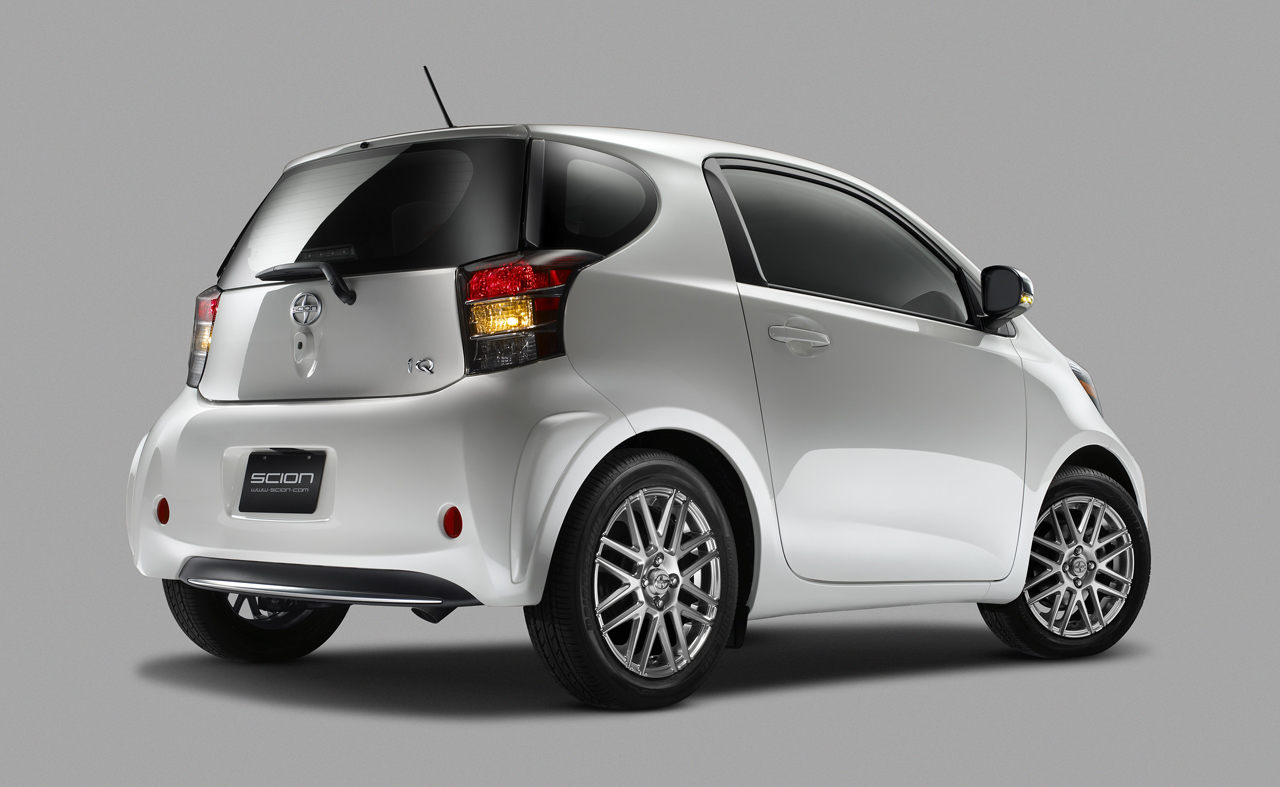 2011 Scion IQ 4 World's smallest car 2012 Scion iQ available a $15,995