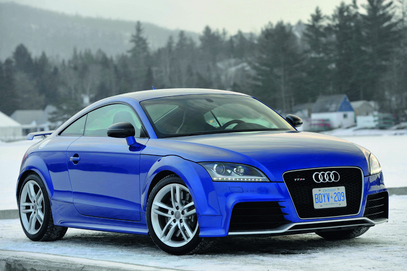 2012 Audi TT RS New Audi TT RS available in US just at $ 56,850