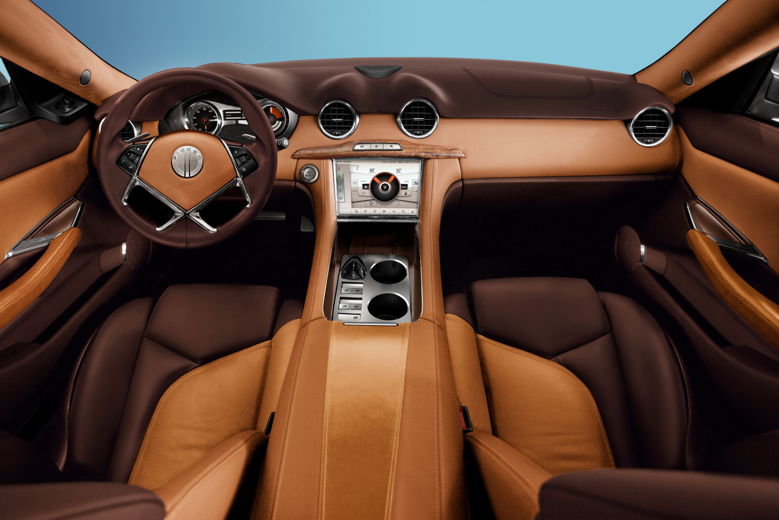 2012 Fisker Karma 2 The First Karma luxury edition for Leonardo Di Caprio. Fisker bags huge orders