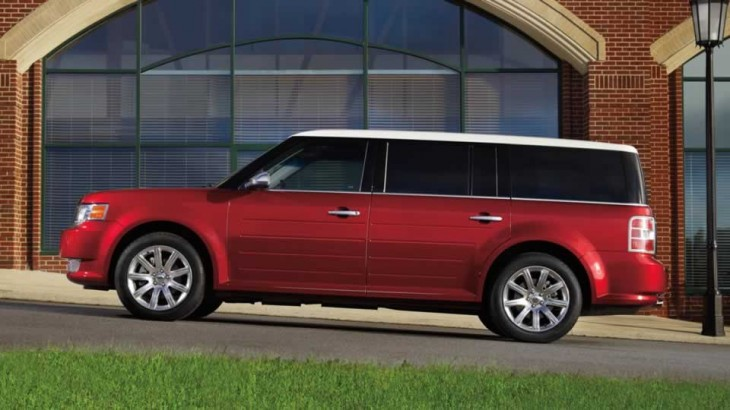 2012 Ford Flex 3 2012 Ford Flex Crossover Performs Well without Dampening Nature
