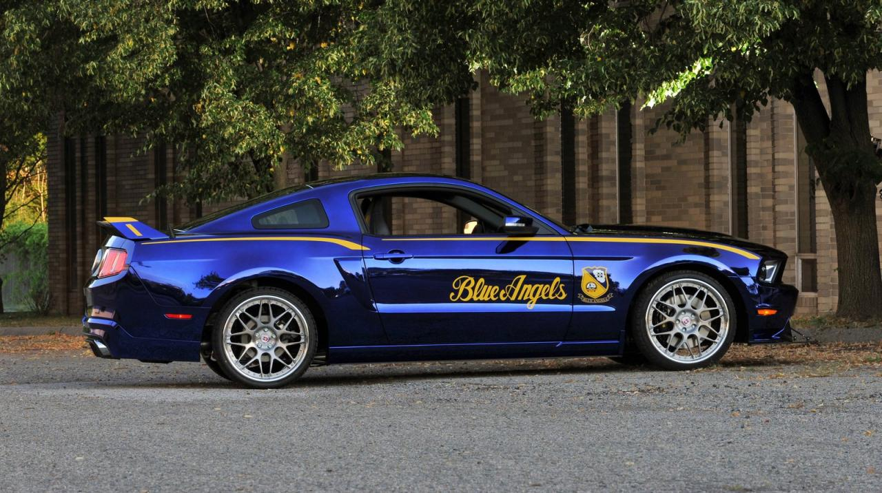 2012 ford mustang blue angels edition 2 2012 Ford Mustang Blue Angels to Gift Mustang GT Variant