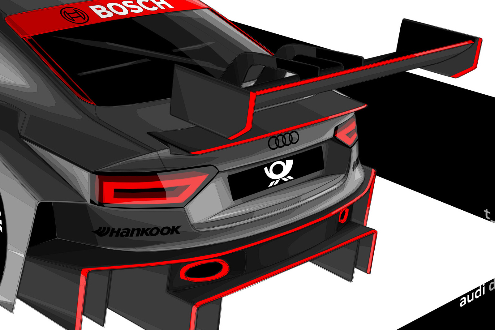 Audi motorsport 5 Audi A5 Coupe DTM Racing Concept Car Review