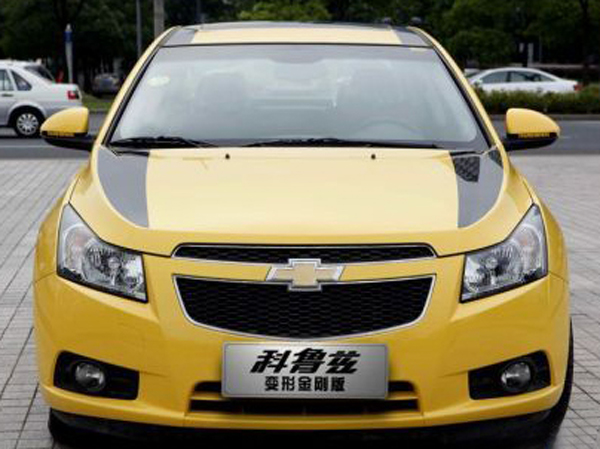 Chevrolet cruze transformer edition 11 GM to Release Bumblebee Cruze in China