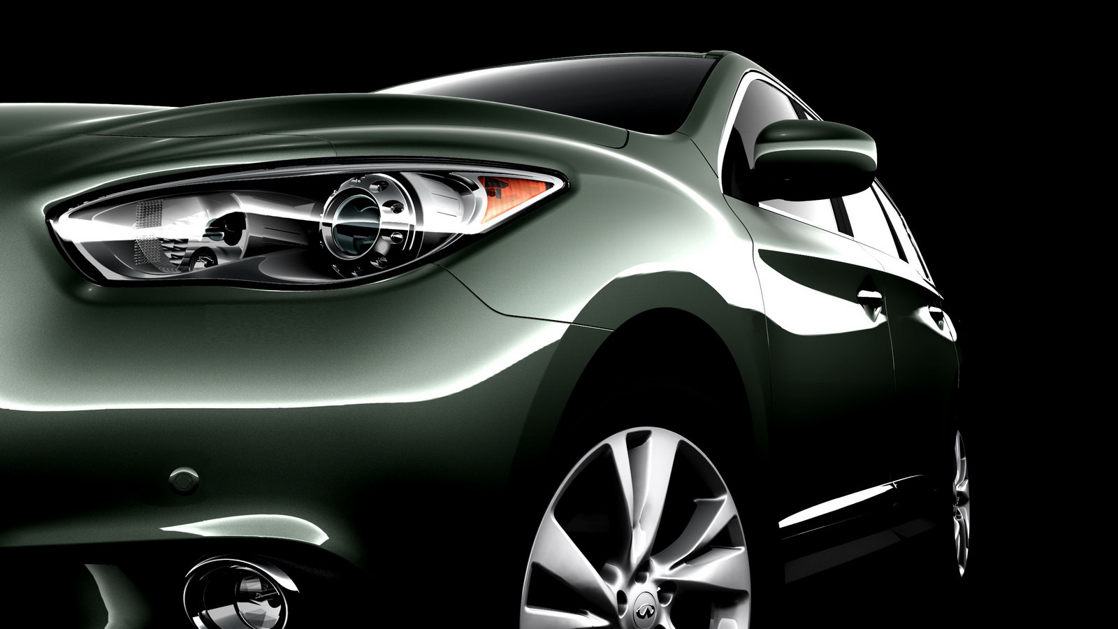 Infiniti JX Concept Teaser 1 INFINITI RELEASES FIRST EDITION OF INFINITI JX CONCEPT